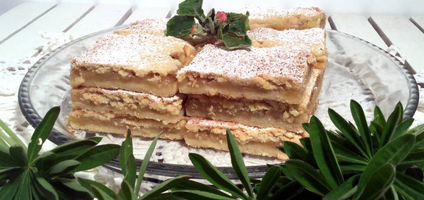 Lenja pita: Latmanns eplepai fra Serbia
