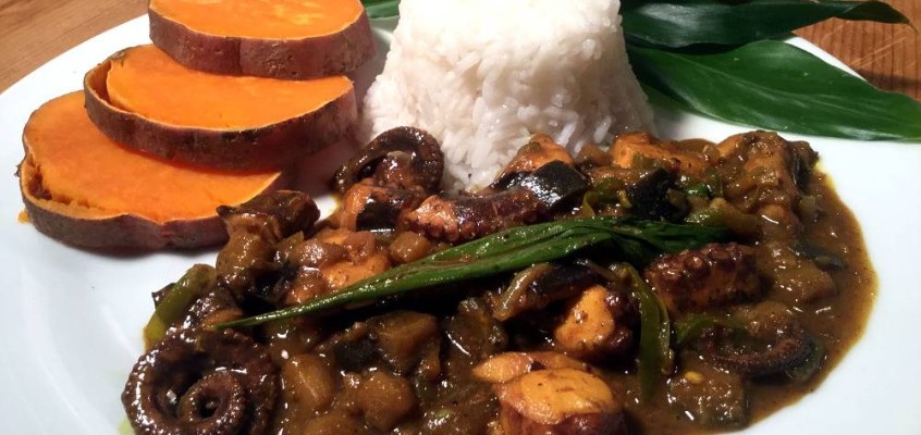 Seychellois octopus curry: Street food fra paradis