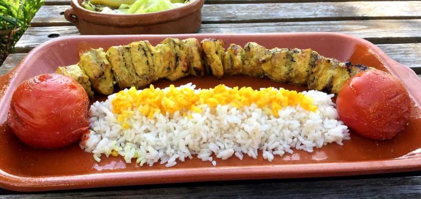 Djudje kabab: Kyllingkebab fra Aserbajdsjan og Iran