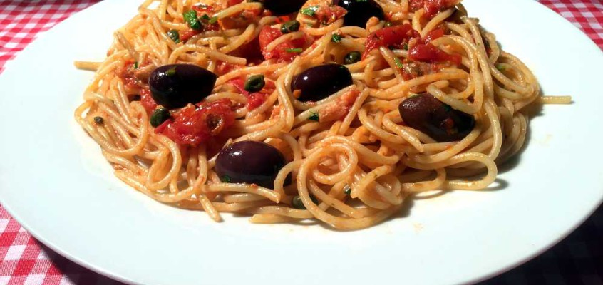 Spaghetti alla puttanesca: Horespagetti etter romersk oppskrift