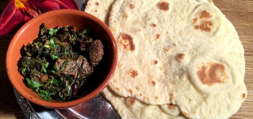Nanbrød: Indisk middagslefse med norske råvarer
