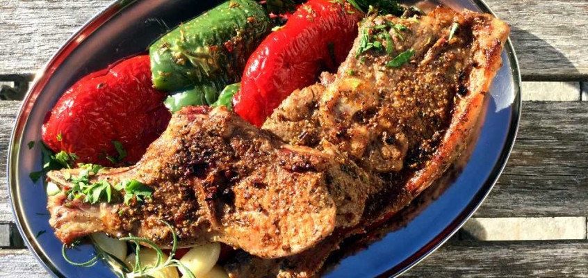 Paidakia: Enkle greske lammekoteletter