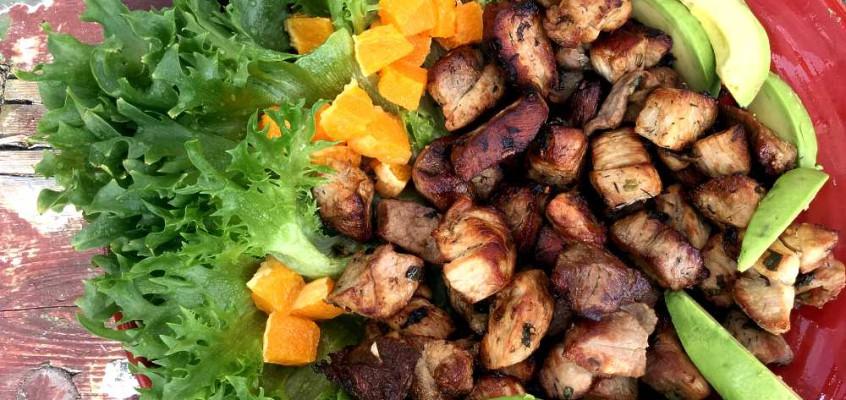 Garlic pork: Langtidsmarinert hett svin fra Trinidad