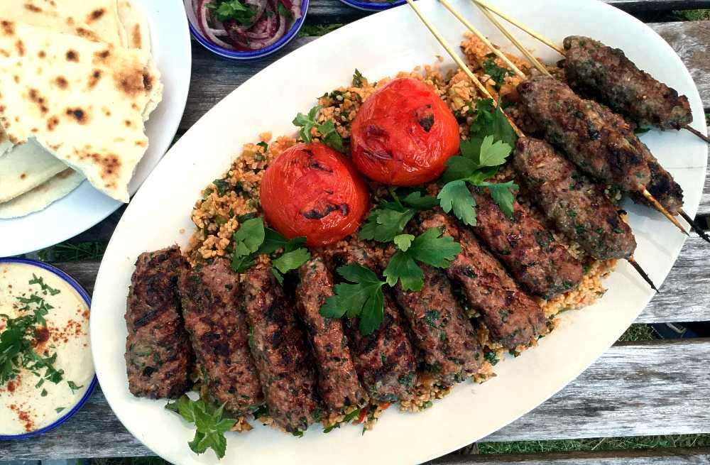 Kafta: Heftige lammekjøttdeigspyd fra Libanon