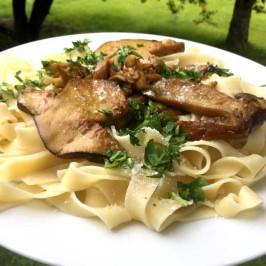 Tagliatelle ai funghi porcini: Toskansk pasta med steinsopp