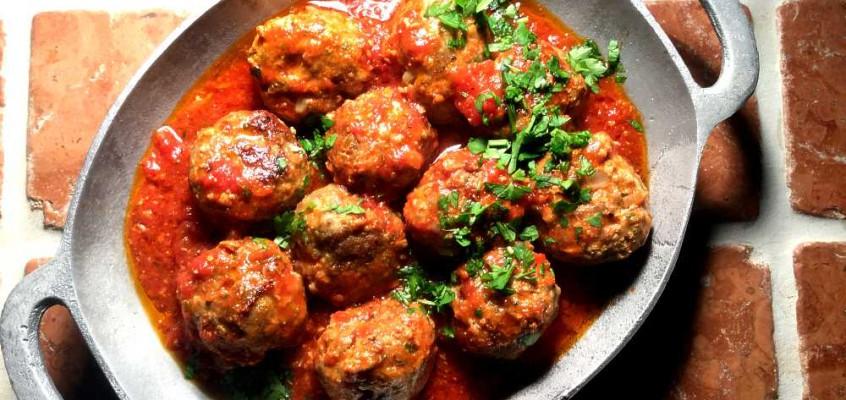 Polpette di agnello al sugo: Italienske lammekjøttboller