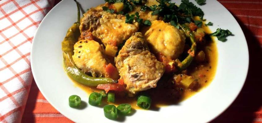 Masor tenga: Fiskecurry fra Assam i Nordøst-India
