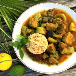 Colombo de porc: Slik spiser man karri i fransk Karibia
