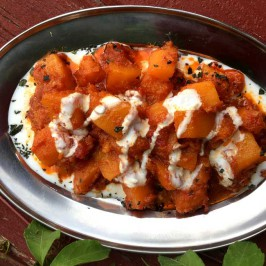 Kadu borani: Herlig afghansk gresskar med jogurt