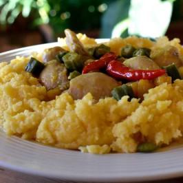 Muamba de galinha: Angolas berømte og nydelige kyllinggryte