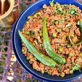 Keema matar: Rask nordindisk lammekjøttdeig med erter