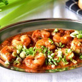 Spicy cajun shrimps: Kongereker på Louisiana-vis