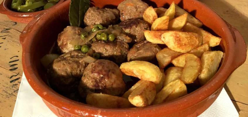 Albóndigas en salsa: Spanske kjøttboller (uten tomater)