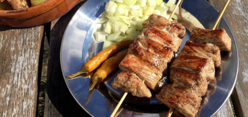 Ražnjići: Serbokroatisk grillspyd