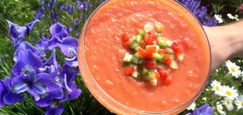 Gazpacho: Iskald tomatsuppe mot varmen