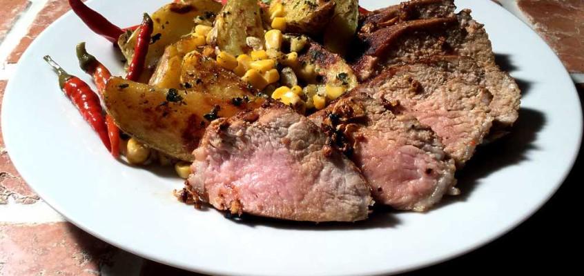 Spicy Cajun pork tenderloin: Kreolsk svinefilet