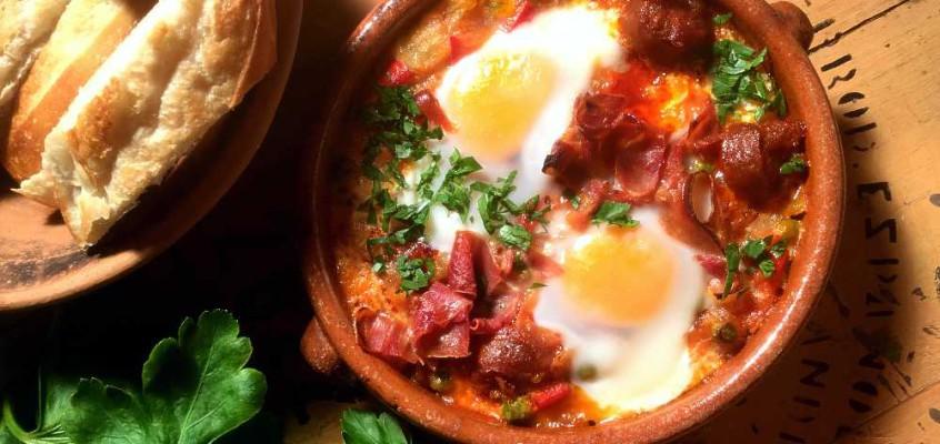 Huevos a la flamenca: Flamencoegg fra Sevilla