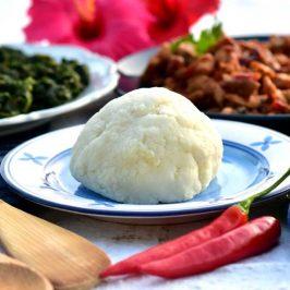 Ugali: Østafrikansk polenta til alt – f.eks. gresskarblader